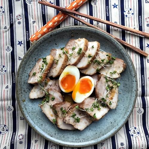 【炊飯器レシピ】スイッチ1つで簡単♡豚バラブロックde焼豚♡