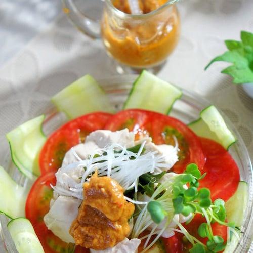 練り胡麻とすし酢で簡単美味しい棒棒鶏ソース