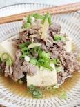 新しょうが入り、肉豆腐