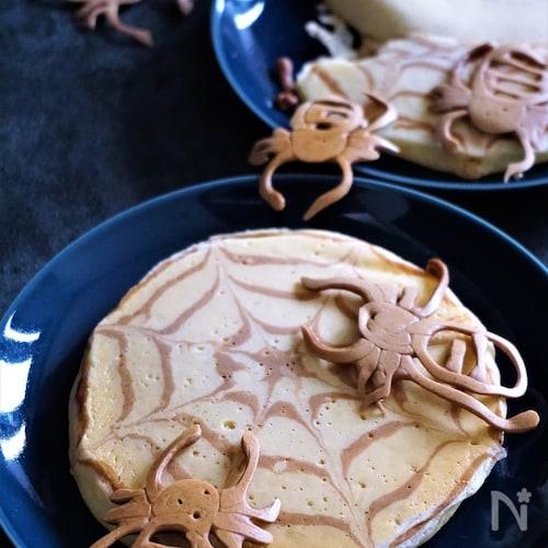 ハロウィンホットケーキ
