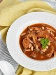 大豆と鶏肉のトマト煮込み【冷凍・作り置き】