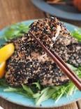 鶏むね肉のごまマヨ焼き【お弁当・作り置き・揚げない】