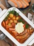 チーズフォンデュ風トマトカレー鍋