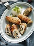 簡単和食【豚肉の大葉と梅ロール焼き】