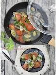 【STAUB】アサリとトマトの白ワイン蒸し