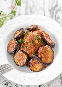 『鶏むね肉のトマト煮』