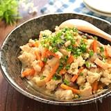 素朴な味♡冷蔵庫にあるもので作った具沢山炒り豆腐