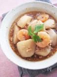 里芋と海老のそぼろ煮
