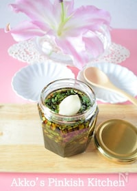 『パクチー醤油(万能調味料) 作り置きレシピ 』