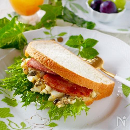 みんな大好き*ボリュームたまごのサンドイッチ#お弁当にも