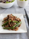 『ニンニクの芽と豚肉の中華風炒め』#スタミナ#簡単#スピード