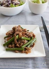 『『ニンニクの芽と豚肉の中華風炒め』#スタミナ#簡単#スピード』