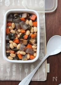 『五目煮豆。』
