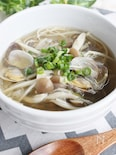 アサリの旨みがたっぷりスープ