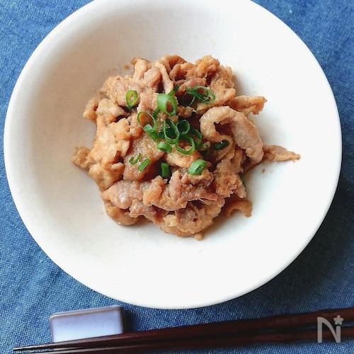 下味冷凍OK☆豚こま肉の生姜味噌漬け焼き