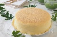 失敗しない!豆腐スフレチーズケーキ