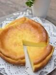 ほんのり塩味ベイクドチーズケーキ