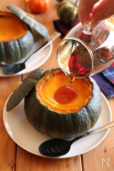 レシピ かぼちゃ プリン