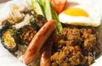 鶏むね肉で作る【ルウなし低糖質】キーマカレー