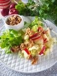 【白菜消費】白菜とりんごとくるみのサクサクサラダ