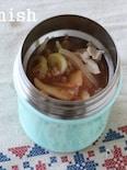 【スープジャー】豚キムチ雑穀スープ