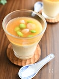 レンジで簡単!中華風あんかけ牛乳茶碗蒸し #牛乳消費レシピ