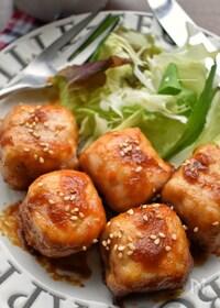 『食べてびっくり(笑)激うま♡厚揚げde豚サイコロステーキ風♡』