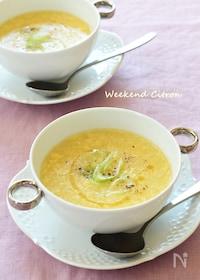『コーンと卵の中華スープ』