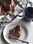 濃厚!ココアバスクチーズケーキ