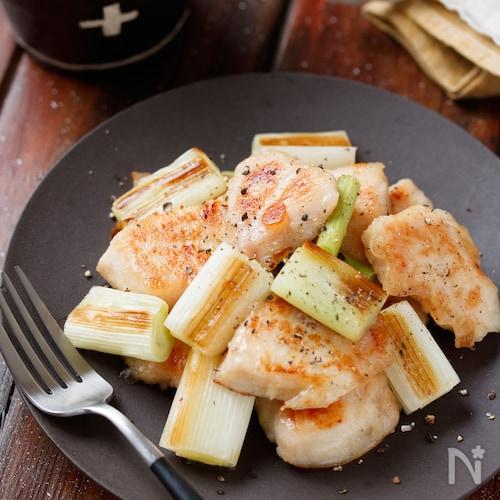 むね肉de串なし塩焼き鳥【#下味冷凍#作り置き#お弁当】
