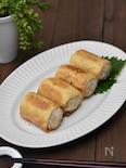 フライパンで簡単!カリカリ焼きいなりロール寿司