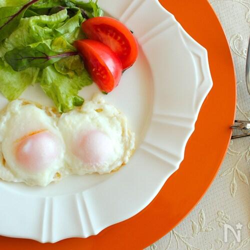 冷凍卵の目玉焼きW(ダブル)