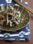 根菜とひじきのしらす炒め。