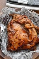 【漬けて焼くだけ】鶏もも肉deマスタードてりやき♪