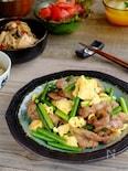 簡単中華☆ニンニクの芽と豚肉の炒めもの!