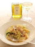 白菜とあさりのフジッリパスタ