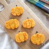 フライパンで簡単♪見た目もかぼちゃパンケーキ!ハロウィンにも