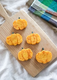『フライパンで簡単♪見た目もかぼちゃパンケーキ!ハロウィンにも』
