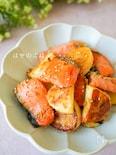 甘辛うまっ♪『冷めても美味しい❁鮭と長芋の味噌バター炒め❁』