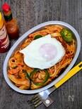 懐かし味のナポリタンスパゲッティー