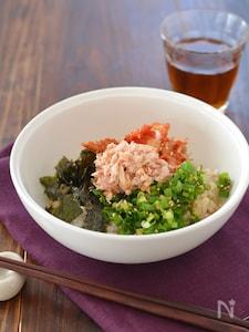 ツナキムチ丼