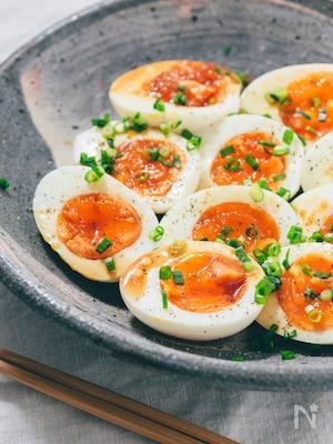簡単お洒落!茹で卵のカルパッチョ