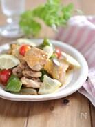 カリカリチキンと夏野菜の南蛮漬け