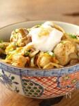 温玉タッカルビ丼 、 鶏肉の韓国焼肉丼