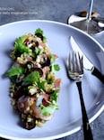 サワラとパクチーの和洋折衷マリネ
