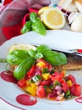 【秘密の下味で魚嫌い克服】さばのムニエル*カラフル野菜ソース