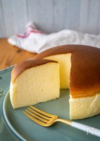 『ぷるぷる♪水切りヨーグルトでスフレヨーグルトケーキ』