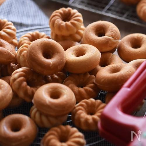 【小麦粉・バター・牛乳不使用】香ばし焼きドーナツ