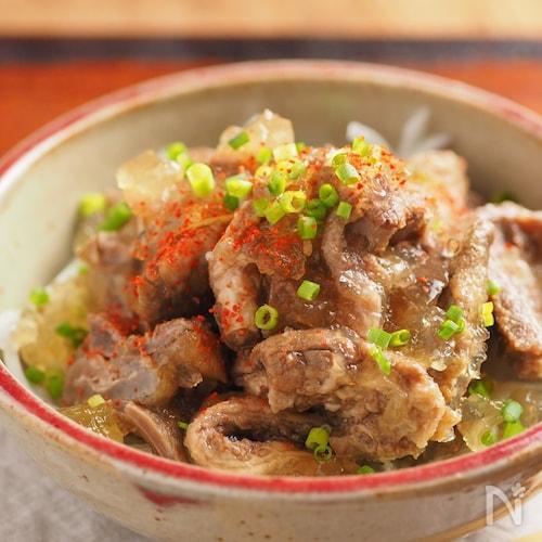 炊飯器でつくる牛すじぽん酢