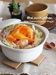 彩りミルフィーユ鍋♡